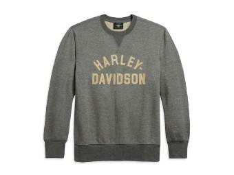 Harley Davidson Herren Pullover - Slim Fit, grau