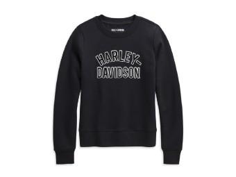 Harley Davidson Damen Pullover – schwarz