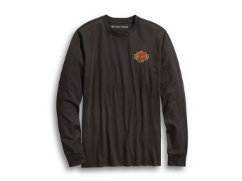 Harley Davidson Langarm Shirt, Freedom Machine