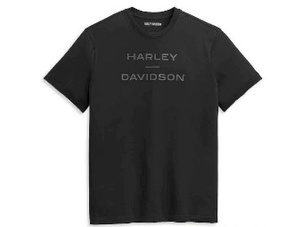 Harley Davidson Logo T-Shirt, schwarz