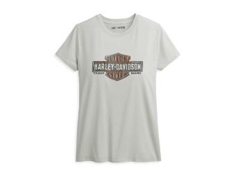 Damen T-Shirt Vintage Logo