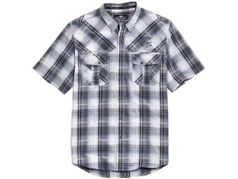 Harley Davidson Whipstitched Plaid Shirt Herren Hemd