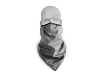 Willie G Skull Mund-Nasen-Bandana Biker Motorrad Halstuch Biker Schal Multifunktionstuch Kopfbedeckung