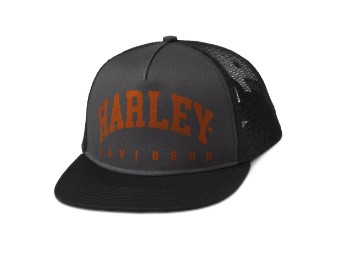 Arched Harley Trucker Cap