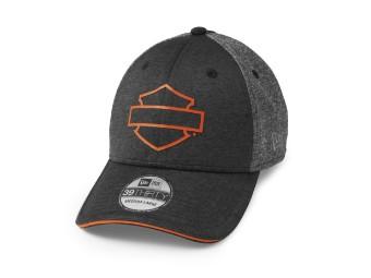 Unisex Bar & Shield Cappy 39Thirty Baseball-Cap Biker Kappe Stretch Motorrad Basecap