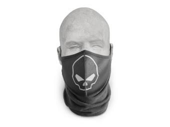 Harley Davidson Gesichtsmaske Skull Neoprene, schwarz