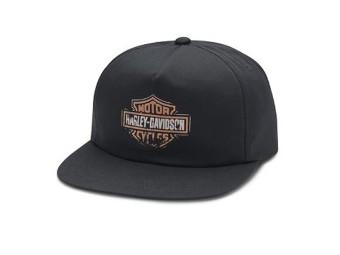 Herren Patina Sixties Bar & Shield Logo Baseball Cap