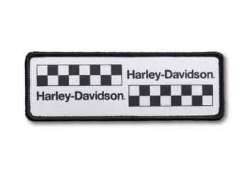 Harley Davidson Staffelungsflagge-Aufnäher