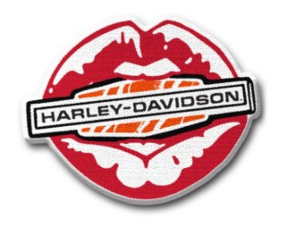 Harley Davidson Kiss Patch