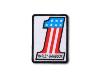 Harley Davidson No. 1 Patch