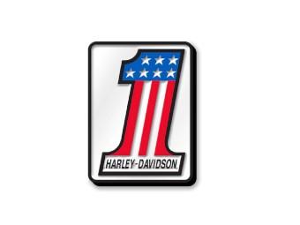 Harley Davidson #1 Logo-Emaille-Pin