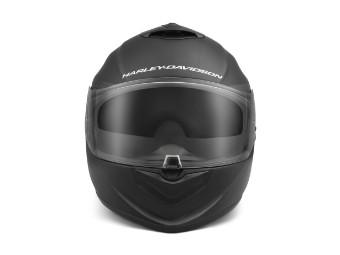 Männer Brawler Carbon Fiber X09, Full Face mit Sun Shield, Helm