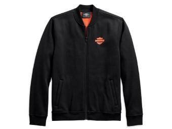 Fleece Jacke Vertical Stripe