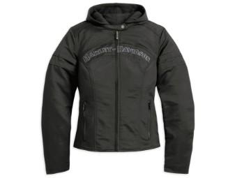 Miss Enthusiast 3-in-1 Outerwear Jacke, schwarz