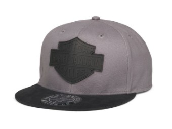 Bar & Shield Cap grau