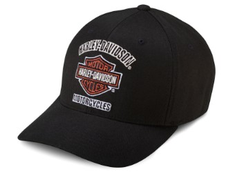 Baseball Cap Bar & Shield Traditional schwarz