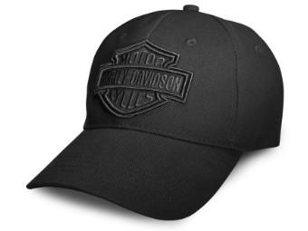 Baseball Cap Phantom, schwarz