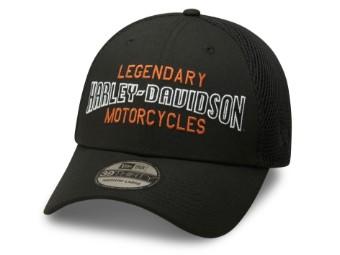 Baseball Cap Legendary Motorcycles 39THIRTY® schwarz