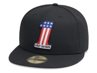 Baseball Cap #1 Logo 59FIFTY® schwarz