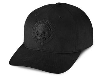 Willie G® Skull Cap Schwarz