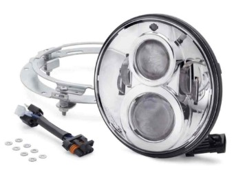 7 in Daymaker Projector LED Headlamp - Chrome Finish 67700264