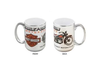 Harley DavidsonOldtimer-MotorradTasse , Chrome