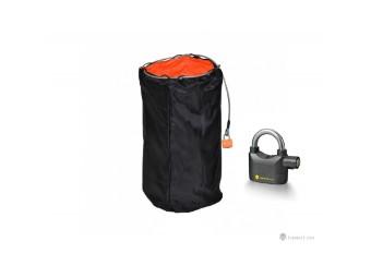 Doppelt Sicherheits Helmtasche + ALARM LOCK