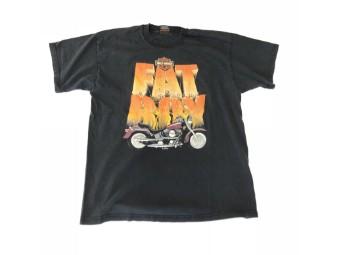 Original Vintage Shirt, FAT BOY, V-Twin, Kiel Germany