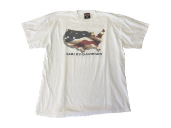 Original Vintage Shirt, Bright U.S.A, Kiel Germany