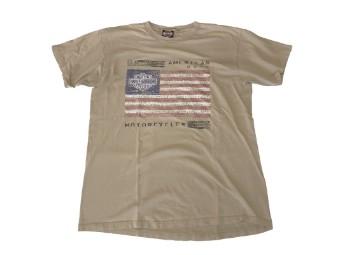 Original Vintage Shirt, Lazy-Flag, Kiel Germany