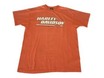 Original Vintage Shirt, Peach-Orange, HD-Racing