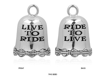 Live To Ride Ride Bell - HRB028