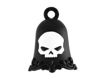 Ride Bell White Matte Willie G® Skull