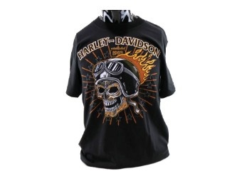 Harley-Davidson Tattoo Skull Dealer Shirt