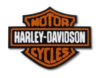 Harley Davidson Bar & Shield Bügelaufnäher