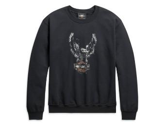 Herren Sweatshirt Sweater Patina Eagle