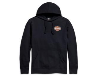 Harley Davidson Kapuzenpullover/ Hoodie mit Logo, schwarz