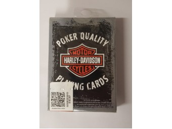 Harley Davidson Bar & Shield Spielkarten