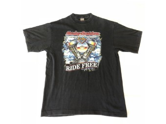 Original Vintage Shirt, New York, Ride Free