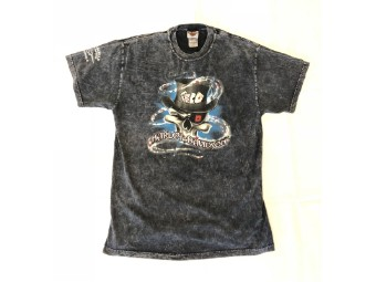 Original Vintage Shirt, Joker-Skull, Denim-Look