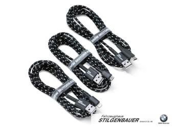Satz BMW Motorrad USB-Kabel