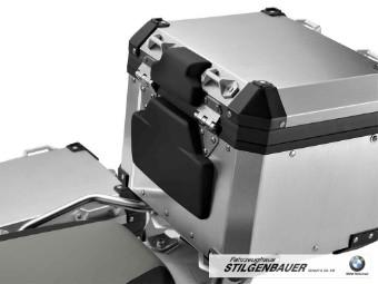Rückenpolster für Topcase Aluminium