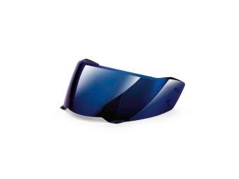 Doppelscheibenvisier Helm 7, blau-verspiegelt