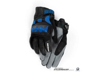Handschuh Rallye, grau/blau