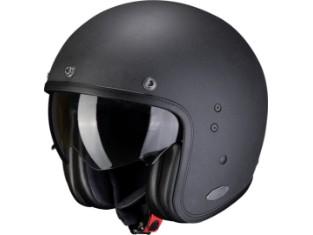 Belfast Graphite Open Face Helmet