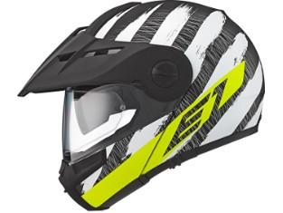 E1 Hunter Yellow flip up helmet size 53 / XS