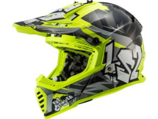 MX 437 Fast Evo Mini Crusher Kinder Crosshelm