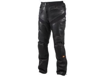Aramos Corium + Platinium leather trousers
