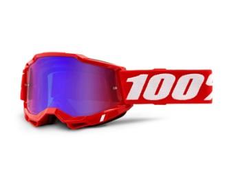 Accuri 2 Extra Red Motocross Brille
