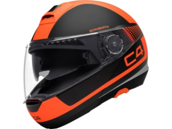 C4 Legacy Orange Klapphelm Gr. S / 55
